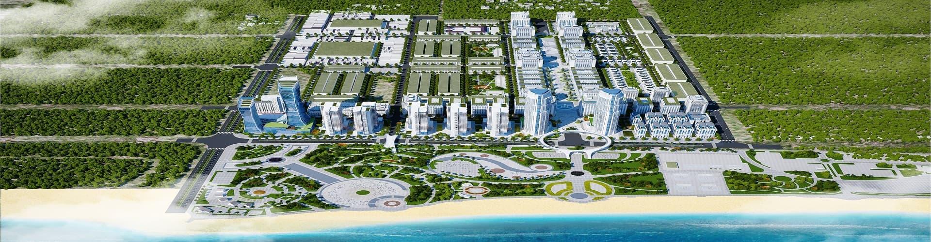 khu đô thị biển Bình Sơn Ninh Chử