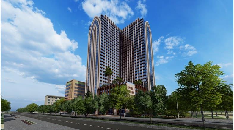 Tổ hợp căn hộ khách sạn và trung tâm thương mại IDJ