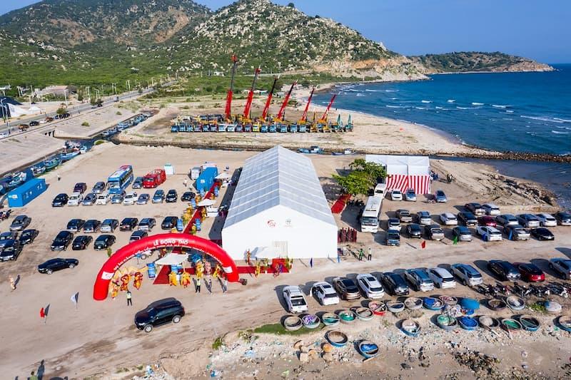 Khởi công dự án cảng biển Cà Ná Ninh Thuận