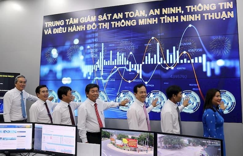Trung tâm giám sát đô thị thông minh Ninh Thuận