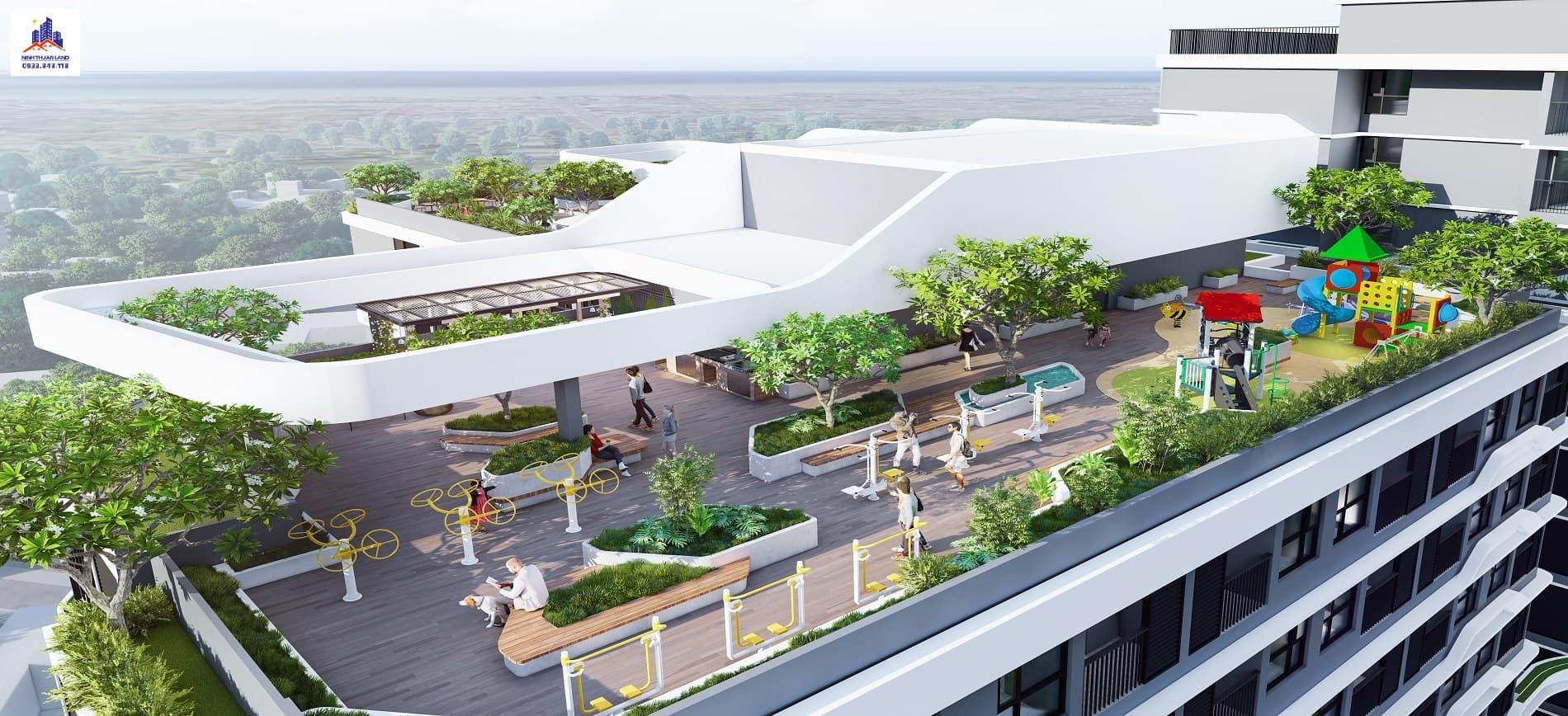 vườn treo Hacom Mall