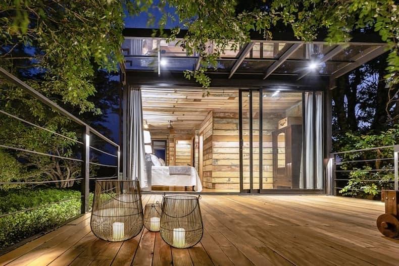 ngôi nhà đẹp tiết kế từ vật liệu tái chế